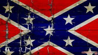 Painted Faded and Cracked Rebel Confederate Flag   Decal Style Skin