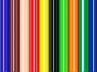 Stripes Colorful Background by Karen Arnold
