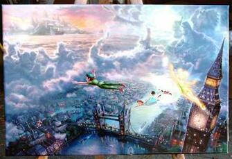 Thomas Kinkade Disney Wallpapers