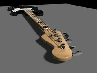 Fender Jazz Bass Wallpaper Fender jazz bass 3d model by