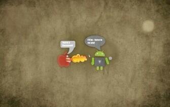 Apple Vs Android Wallpaper Background 3589 Wallpaper Wallpaper
