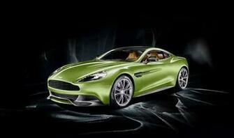 2014 Aston Martin Vanquish Mugiya Green 2 doors car HD resolution