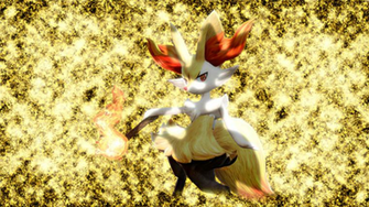 Braixen PT Wallpaper by Glench