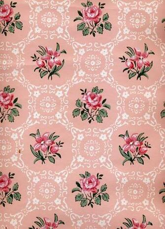 Sabryllinas I love vintage wallpaper