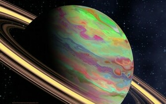 background planet ringed backgrounds wallpaper cool planets
