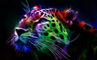 Fractal Leopard hd desktop backgrounds HD Wallpaper