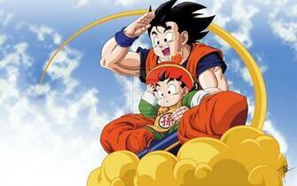 Gohan and Goku by riff1986