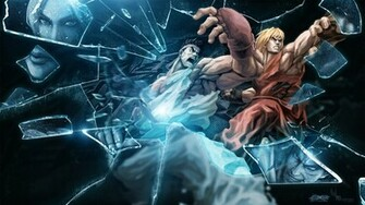 Street Fighter X Tekken Boss Logic wallpaper 7