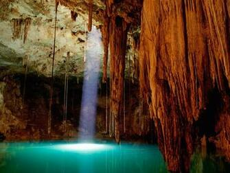 Cenote Dzitnup Mexico Wallpapers HD Wallpapers