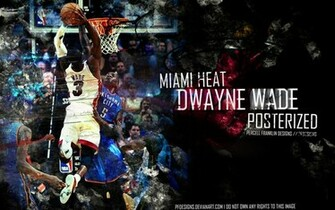 Dwyane Wade Dunk Wallpaper 2013 Dwayne wade by pfdesigns