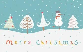Christmas illustration and Christmas Designs 1280x800 Wallpaper 9