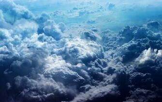Blue Clouds desktop wallpaper
