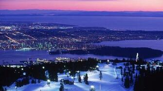Vancouver Snow HD Wallpaper Background Images
