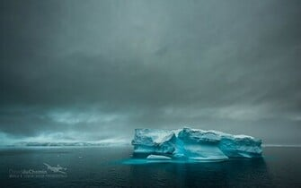 Antarctica Dark Clouds Wallpaper   Travel HD Wallpapers