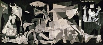 Guernica 1937 at the Museo Reina Sofa in Madrid not part of the