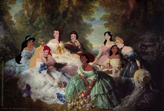 Historical Disney Princess Fashion Maison Mouse