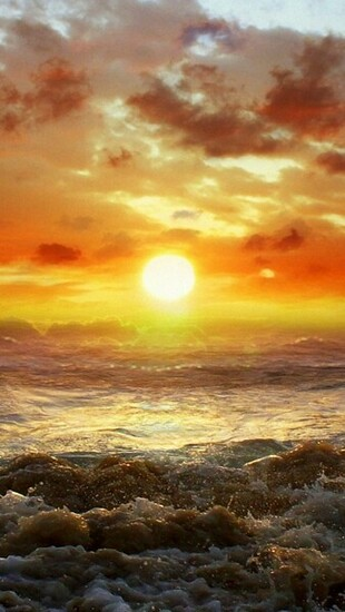 Beach Sunset HD iPhone 5 Wallpapers   Part Two HD Wallpapers