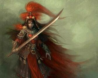 Samurai Female Warrior Wallpapers Metal Fantasy Heavy Metal