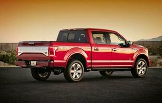 2015 Red Ford F 150 Wallpaper Pictures