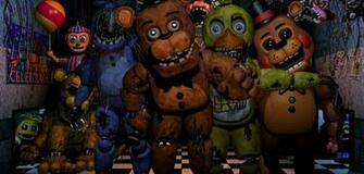 Fnaf 2 by DrawingNoodles