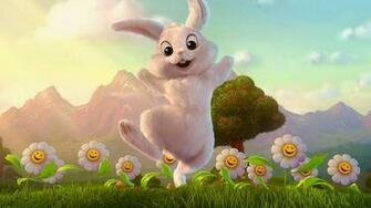 Funny Easter Bunny Wallpaper Cartoon Wallpapers