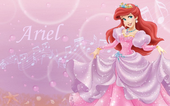 Disney Princess Ariel wallpaper WallpapersHello KittyPretty thi