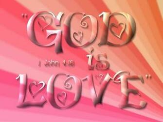 christian desktop wallpaper god is love 1024x768jpg
