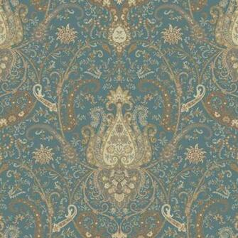 Wallpaper Damask Byzance Wallpaper