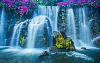 Download 3D Waterfall Live Wallpaper for android 3D Waterfall Live