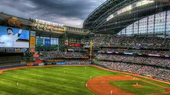 Download Baseball Stadium Wallpaper