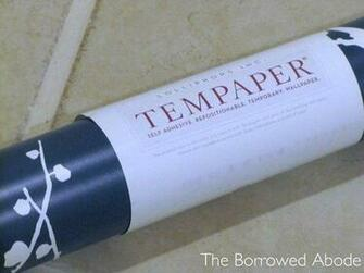 Rental friendly temporary wallpaper by Tempaper Designs rental