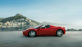Ferrari 458 Italia Desktop Wallpaper   HD