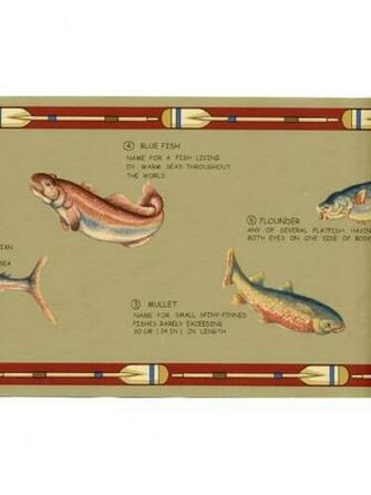 Lodge Rustic Sport Fish Man Cave Mens Tan Wall Wallpaper Border eBay