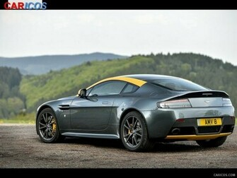 2015 Aston Martin V8 Vantage N430 Alloro Green   Rear HD Wallpaper