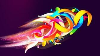 abstract wallpaper desktop shapes colorful 1920x1080