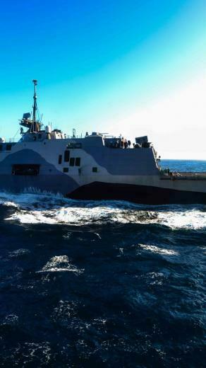USS Freedom Wallpaper Military Vessels USS Freedom LCS 1 lead