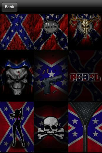 Confederate Flag Wallpaper httpstunningappsnetiphone app southern