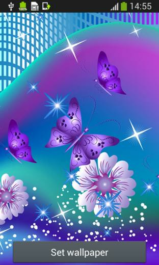 Butterfly Live Wallpapers for Android   Download