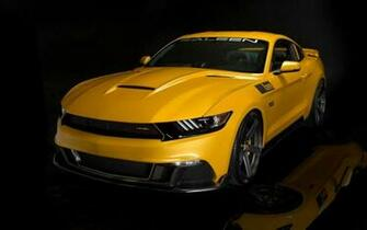 Name 2015 Saleen S302 Black Label Mustang Wallpaper