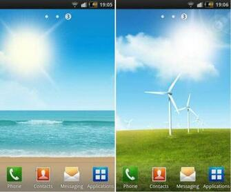 Galaxy S II Live Wallpapers for your Android Phone GetANDROIDstuff