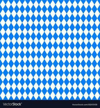 Oktoberfest background Blue background Royalty Vector