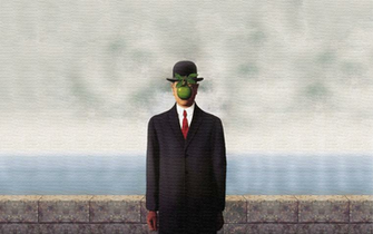 Rene Magritte Son Of Man wallpaper 247033