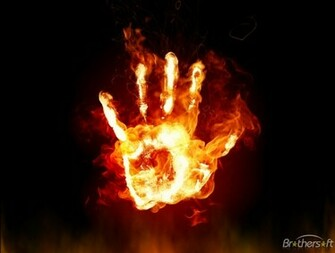 Fire Hands Animated Wallpaper Fire Hands Animated Wallpaper