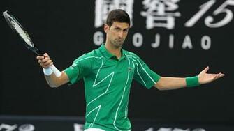 Australian Open 2020 Roger Federer vs Novak Djokovic semi final