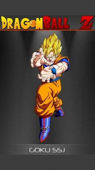 Goku   Dragon Ball Z Mobile Wallpaper 12333