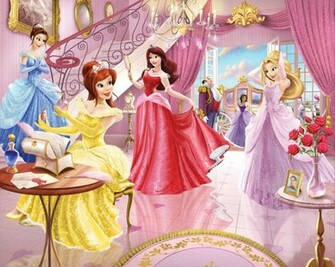 Beauty Disney Princess Wallpaper for Kids Room on LoveKidsZone