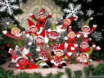 Santas elves wallpaper   HD Wallpapers