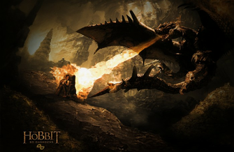 The Hobbit WallpaperPoster Misc Box Art Cover by takamura97