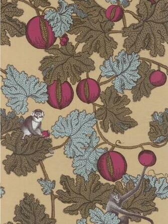 Cole and Son Designer Wallpaper   Fornasetti Frutto Proibito