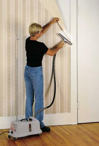 how to remove wallpaper glue How to Remove Wallpaper Using